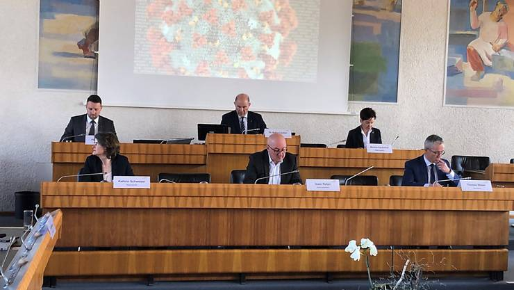 Der Baselbieter Gesamtregierungsrat informierte am Sonntag über verschärfte Massnahmen wegen der Ausbreitung des Coronavirus.