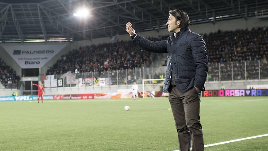 Bitteres Remis für Schaffhausens Trainer Murat Yakin