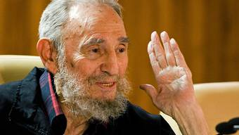 Fidel Castro im Februar dieses Jahres (Archiv)