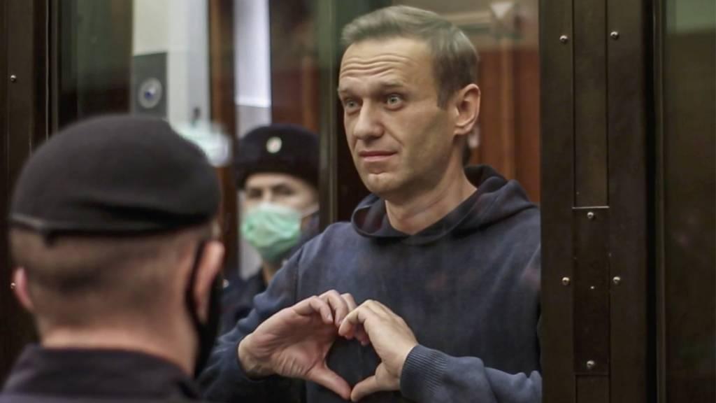 Amnesty fordert sofortige Freilassung von Alexej Nawalny