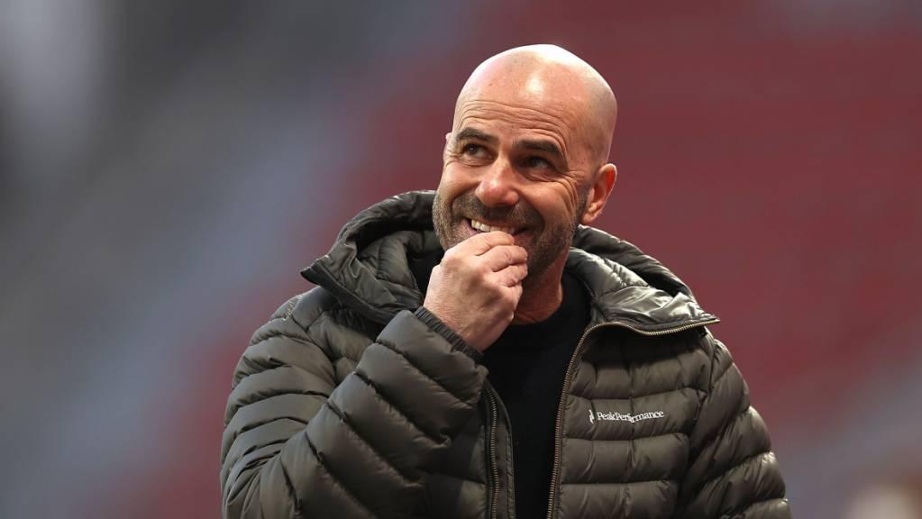 Seine Zeit in Leverkusen ist abgelaufen: Trainer Peter Bosz