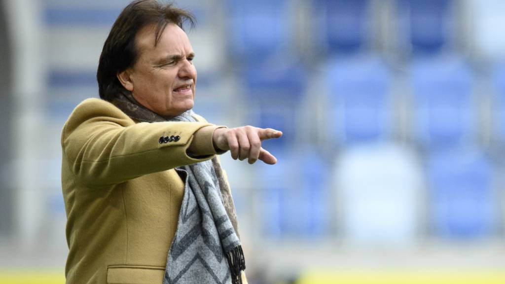 Präsident Christian Constantin coachte den FC Sion in Lausanne zum Auswärtssieg.