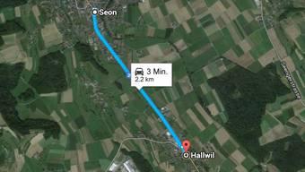 Auf dieser Strecke hat ein Autofahrer ein 14-jähriges Mädchen angefahren.