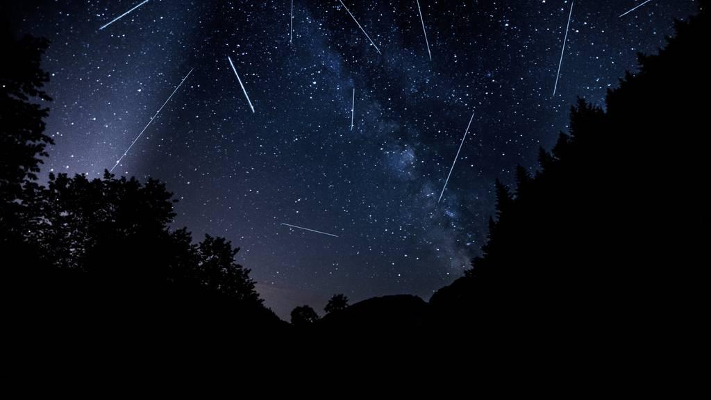 Das Perseiden-Spektakel erreicht in den nächsten Tagen seinen Höhepunkt. (Bild: iStock)