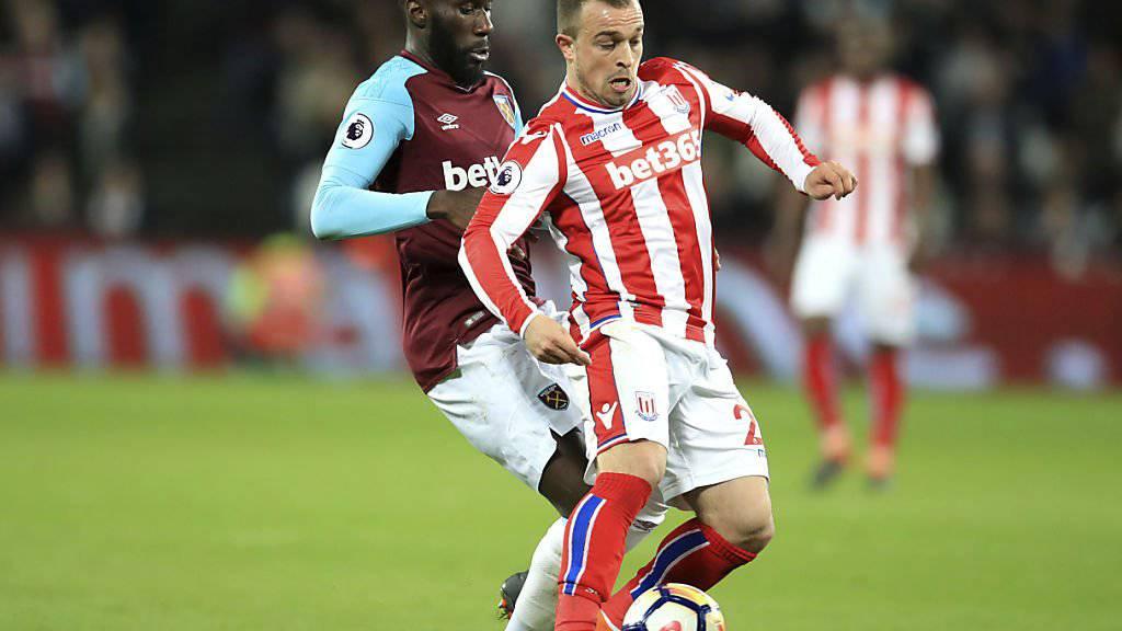 Shaqiri bleibt mit Stoke in der Krise
