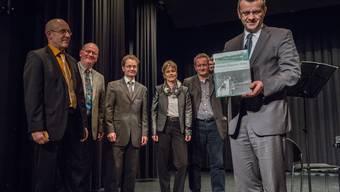 Buchvernissage über die Geschichte von Rheinfelden