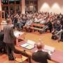 Das Info-Bedürfnis der Schöftler ist gross, wie die Versammlung vom November zeigt.
