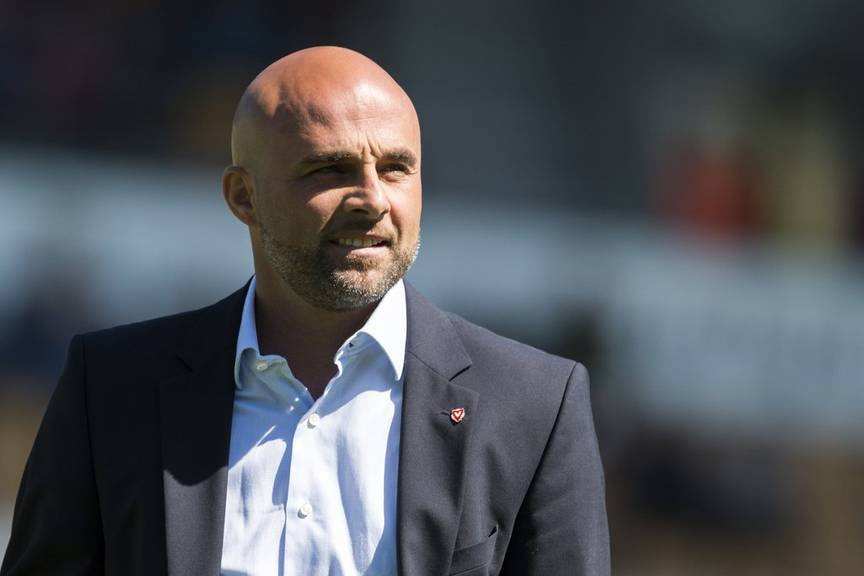 Giorgio Contini bleibt beim FC Vaduz. © Keystone/Gian Ehrenzeller