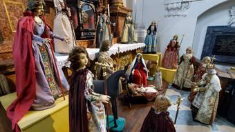 Keine Zuckerwatte-Wohlfühlstory: Die Weihnachtsgeschichte, hier dargestellt in der Ambassadorenkrippe in der Jesuitenkirche Solothurn.