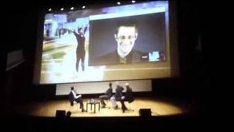 Wenn Edward Snowden an seine Zeit in Genf zurückdenkt, wird er ganz nostalgisch. In einem Skype-Gespräch anlässlich der Vorführung des Films «Citizenfour» bittet er die Schweiz hinter vorgehaltener Hand um Asyl.