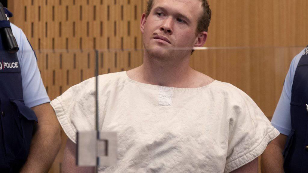 Der rechtsextreme Angreifer von Christchurch Brenton Tarrant hat am Freitag vor Gericht auf unschuldig plädiert. (Archivbild)