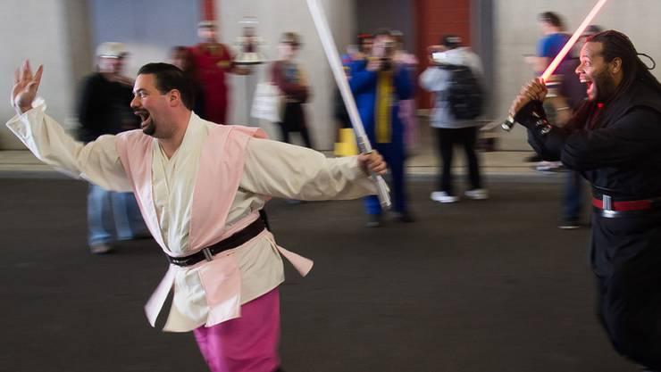 177'000 bekennende Jedis in Grossbritannien: Wer träumt nicht davon, ein Jedi zu sein? (Symbolbild)