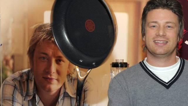 Selbstbewusst dank Arbeit am Herd: TV-Koch Jamie Oliver (Archiv)
