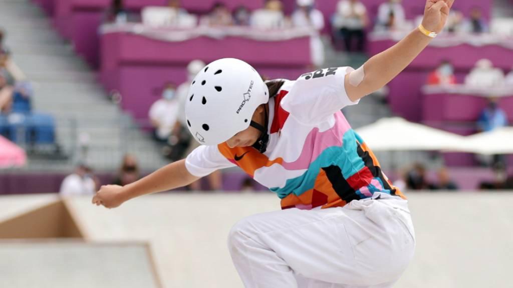 Die 13-jährige Japanerin Momiji Nishiya fliegt in der Heimat zu Olympia-Gold