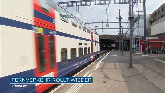 Bahnhof Winterthur nun wieder befahrbar