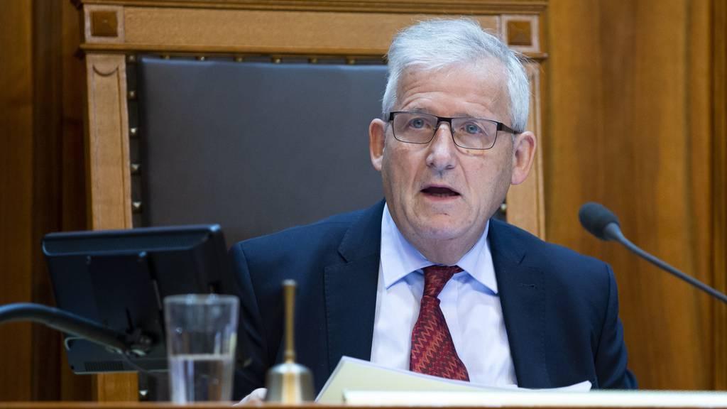 Laut Ständeratspräsident Hans Stöckli fiel der Entscheid in der Verwaltungsdelegation einstimmig.