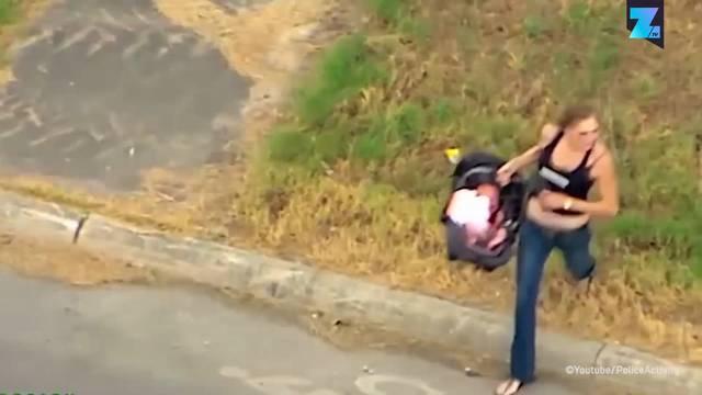 Frau mit Baby liefert sich wilde Verfolgungsjagd - mit 160 km/h!