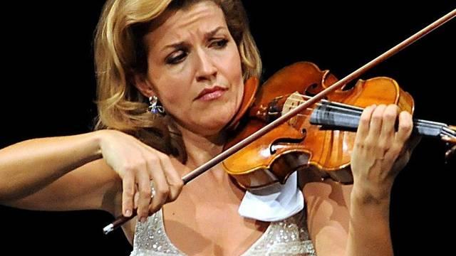 Geigen-Virtuosin Anne-Sophie Mutter (Archiv)