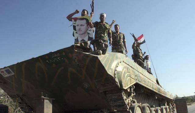 Syrische Armee dringt in Vororte von Damaskus ein (Archiv)