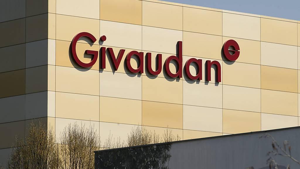 Givaudan legt nach neun Monaten kräftig zu