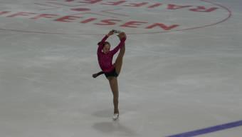 Die Läuferinnen des Eislaufclub beider Basel zeigten an den Wettkämpfen starke Leistungen.