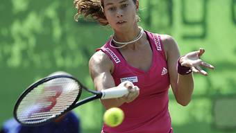 Stefanie Vögele ist als zweite des Turniers gesetzt.