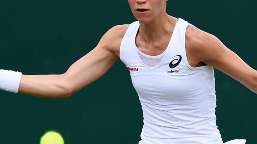 Viktorija Golubic bestritt ihre erste Partie im Haupttableau von Wimbledon