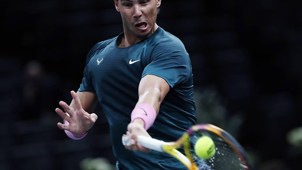 Rafael Nadal trifft auf den Titelverteidiger