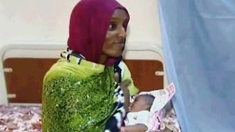 Archivbild der verurteilten sudanesischen Christin im Gefängnis
