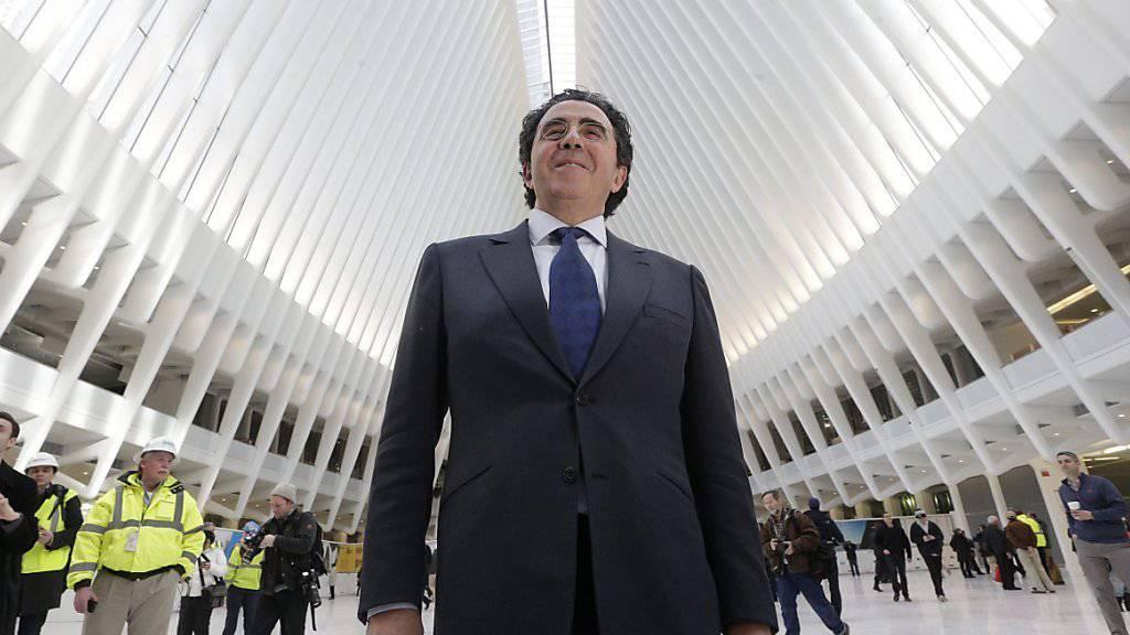 Das Werk des Architekten Santiago Calatrava ist betriebsbereit - der teuerste Bahnhof der Welt sorgte aber für grosse Kontroversen in New York.