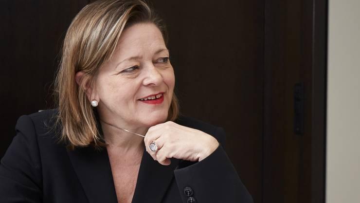 Expertin für Politiker-Karrieren Regierungsrätin Heidi Z'graggen.