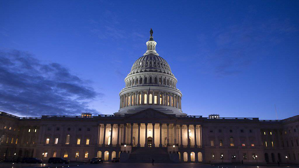 Das US-Parlamentsgebäude Kapitol in Washington. (Archivbild)