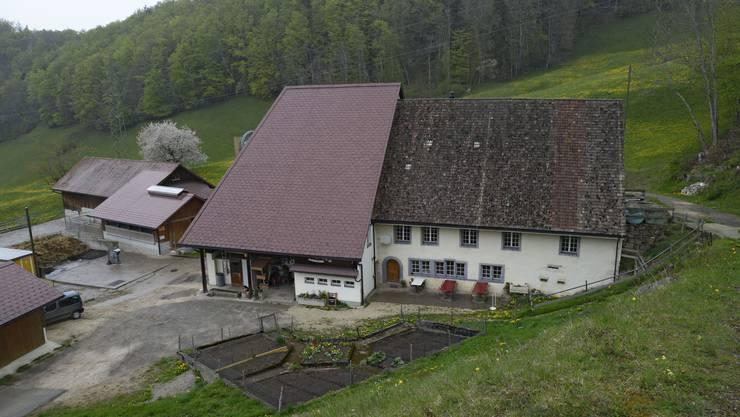 Der Berghof mit Wirtschaft Chambersberg