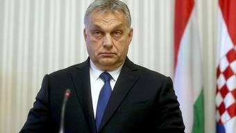 Ungarns Regierungschef Viktor Orban gestaltet die Medienlandschaft in Ungarn weiter unbeirrt um. (Archivbild)