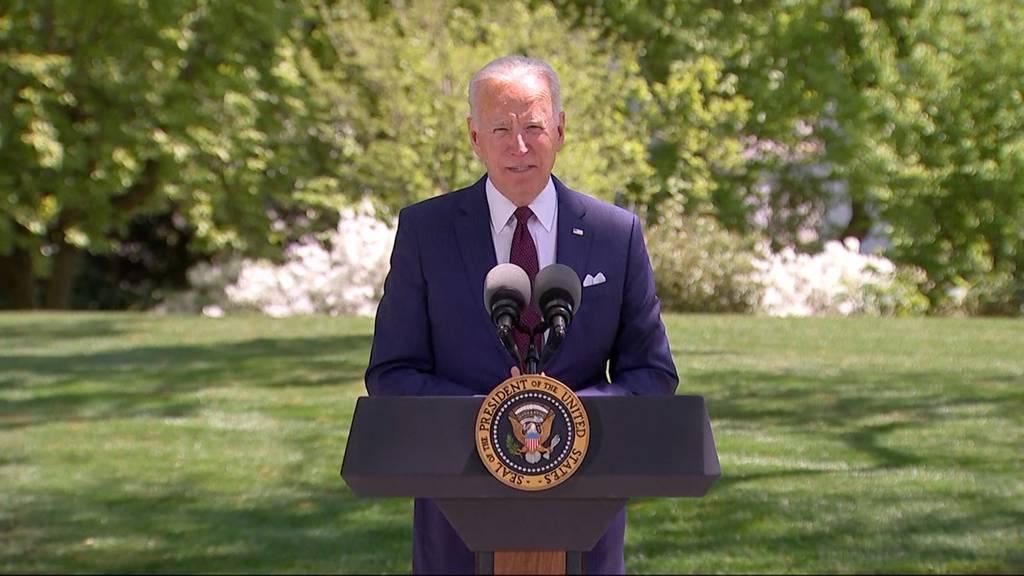 USA: 100 Tage Joe Biden als Präsident im Weissen Haus