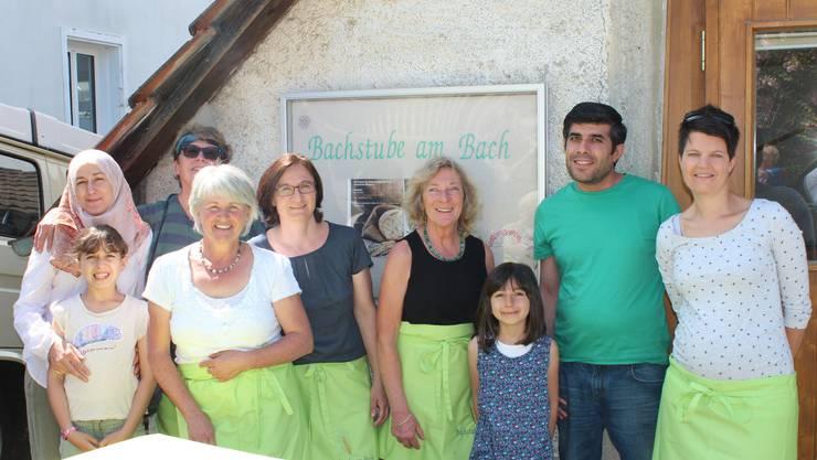 Iris Schütz und ihr Backstuben-Team