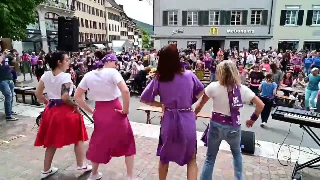 Frauenstreik 2019 in Olten