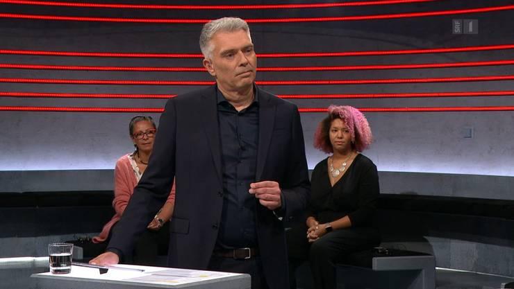 Moderator Sandro Brotz erntete für die Sendung viel Kritik.