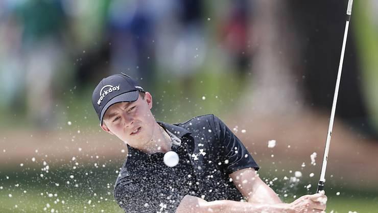 Matthew Fitzpatrick beherrscht das Golf auch aus dem Sandbunker