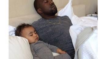 Das friedliche Bild publizierte Kim Kardashian auf Instagram