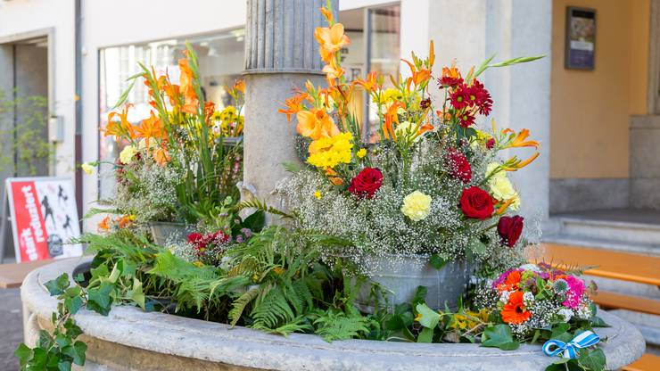 Die schönsten Brunnen vom Jugendfest Lenzburg 2020: Der Rathausbrunnen