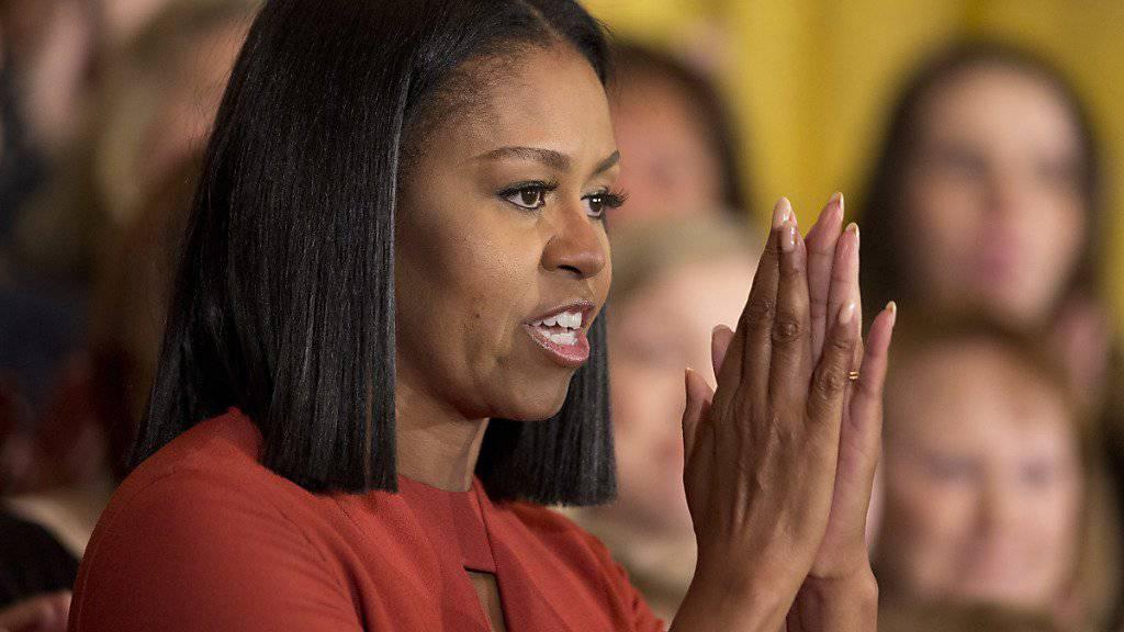 Michelle Obama verabschiedet sich als First Lady.