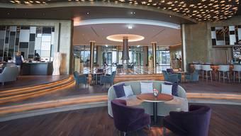 Moderne Architektur und Luxus vom Feinsten: Damit will das am Donnerstag eröffnete 5-Sterne Hotel auf dem Bürgenstock ab sofort Gäste aus aller Welt in die Zentralschweiz locken.