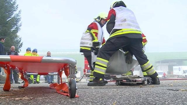 Übung für den Katastrophen-Fall