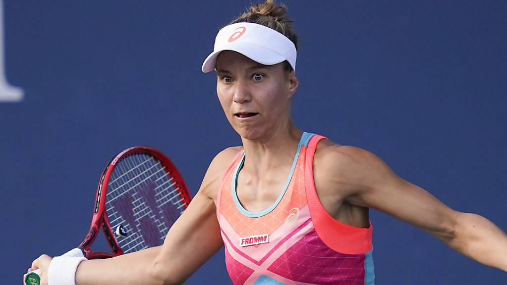 Viktorija Golubic erreichte nach einem Arbeitssieg gegen Vera Lapko die 2. Runde