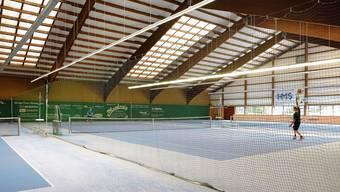 Die Halle soll einen neuen Boden bekommen und das Dach abgedichtet und energetisch saniert werden.