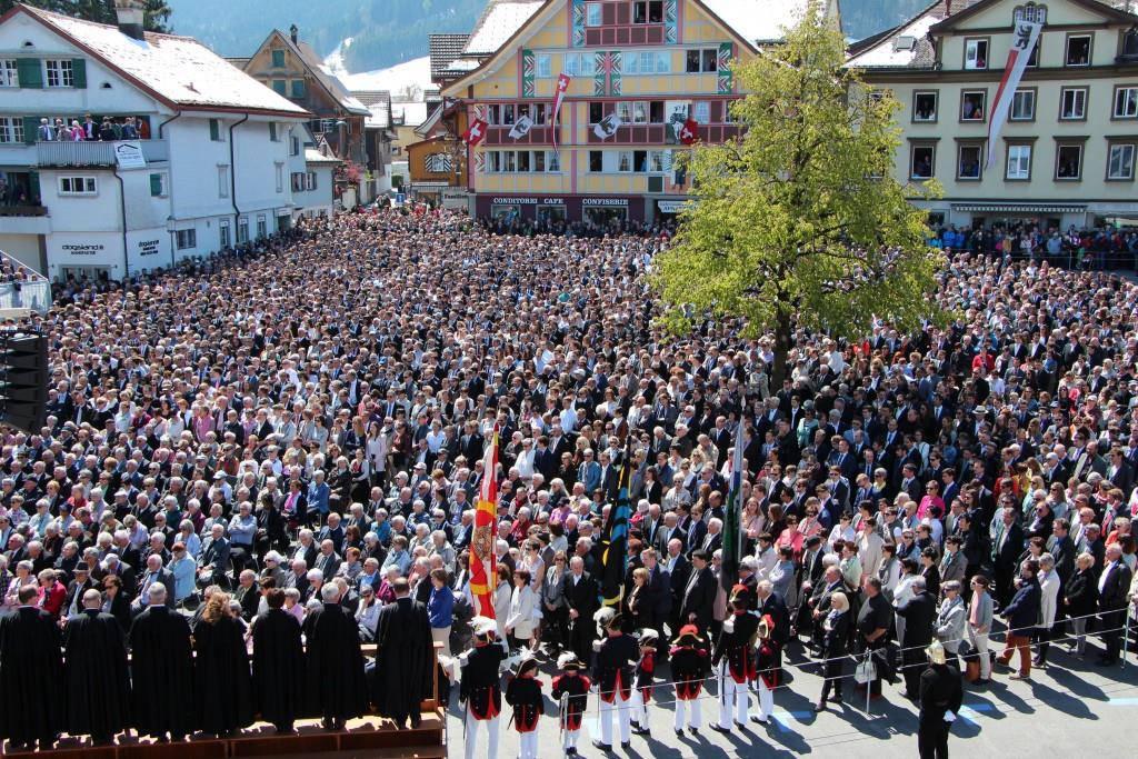 Appenzeller Landsgemeinde 2017 (© Sandro Zulian)