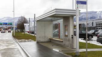 Einweihung Bushaltestelle Langfeld in Zuchwil