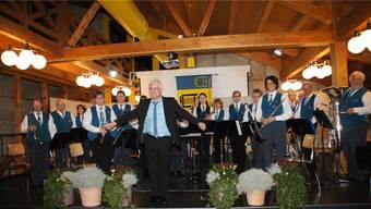 Unter der Leitung von Erich Hess spielte die Musikgesellschaft Fridau Egerkingen viele anspruchsvolle Stücke.