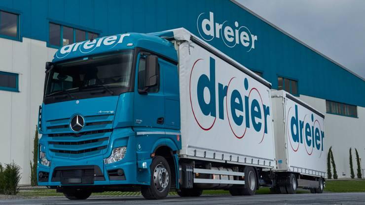 Die in Suhr beheimatete Firma Dreier AG ist in der Transport- und Logistikbranche eine grosse Nummer.